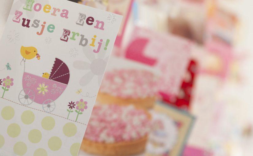 Babykaartjes maken iedereen gelukkig